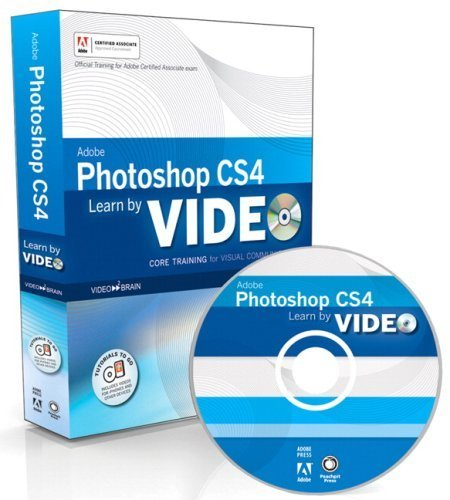 Learn Adobe Photoshop CS4 by Video: Core Training in Visual Communication 1st edition by Powell, Gabriel, Aaland, Mikkel, video2brain (2009) Taschenbuch