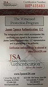Ty Law Autographed New England Patriots Signed Football Mini Helmet JSA COA