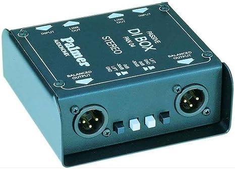 Palmer PAN 04 Passiv Stereo - Caja de inyección directa: Amazon.es ...