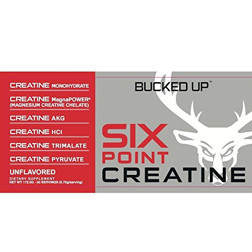 Bucked Up Six Point Creatine™ Six Types of Creatine - For Men and Women by BUCKED UP (Image #4)