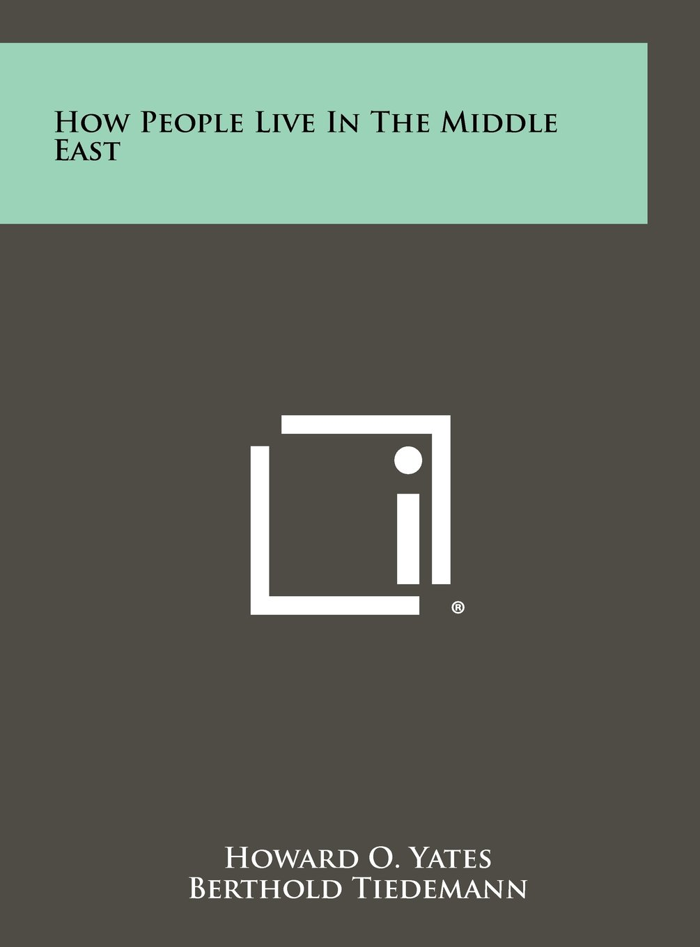 How People Live in the Middle East pdf