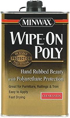 Minwax 40900 1 Pint Gloss Finish Wipe-On Polyurethane Finish - 10132854 , B001F02FFM , 285_B001F02FFM , 952019 , Minwax-40900-1-Pint-Gloss-Finish-Wipe-On-Polyurethane-Finish-285_B001F02FFM , fado.vn , Minwax 40900 1 Pint Gloss Finish Wipe-On Polyurethane Finish