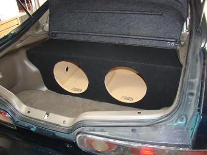 Amazon Com Zenclosures 1994 2001 Acura Integra 2 Door 2 12 Subwoofer Box Car Electronics