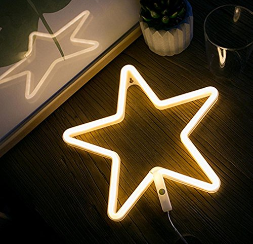 Nordic Neon Stars Starter Love Moon Clouds Bedroom Decoration Decoration Girl Photo Battery Usb Night Light , 4 (Bronze Cloud Light Blue Four)