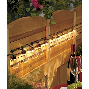 Mason Jar String Lights by GetSet2Save