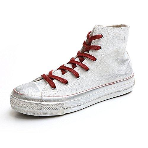 de Goma de de 5 Zapatos mujer Zapatos Color Zapatos Lona Coreana Lona de Versión sucios EU36 Harajuku Suela Feifei Fondo 01 Tamaño de Moda CN35 de Pequeños 04 Plano Verano UK3 WfYxx7wn8
