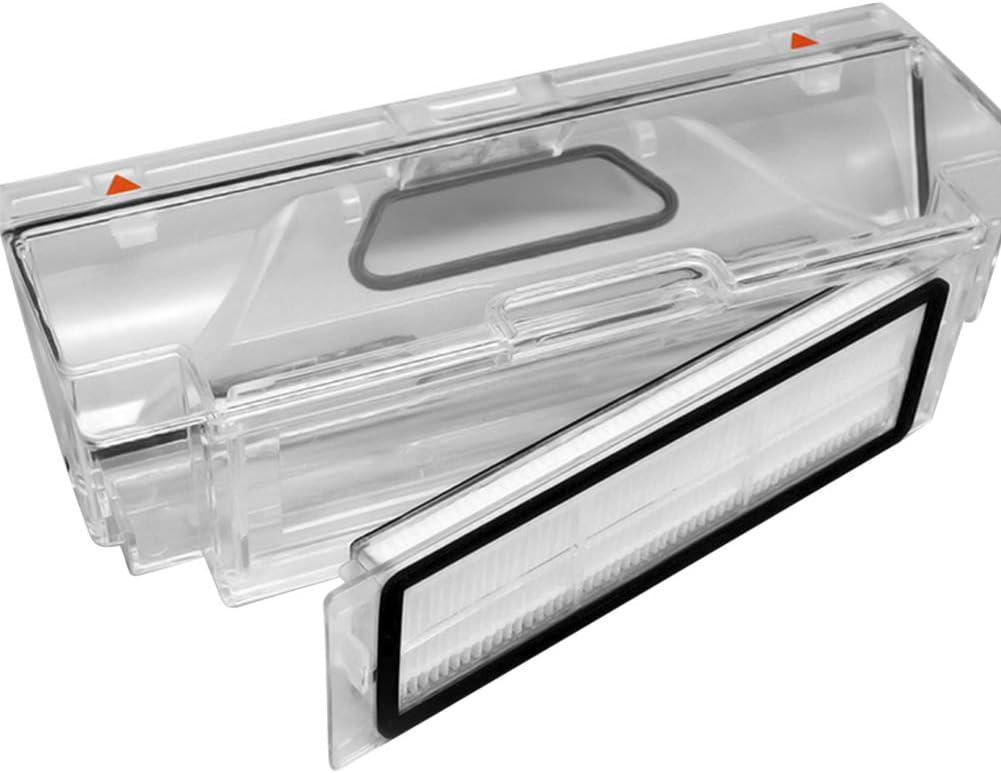 WEYO Kit di Accessori 18pcs Ricambio per Xiaomi Roborock S50 S51 S55 S5 S6 Roborock 2 Xiaomi MI Mijia Robot Aspirapolvere Spazzola Laterale Spazzola Principale Spazzola di pulizia ecc Filtri HEPA