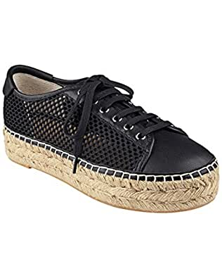 Marc Fisher LTD Women's Macey Black/Black Open Mesh Shoe