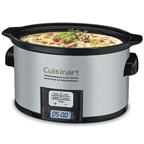 Cuisinart 3 5 Quart Programmable Slow Cooker
