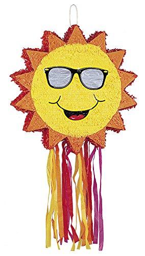 Smiling Sun Pinata ()