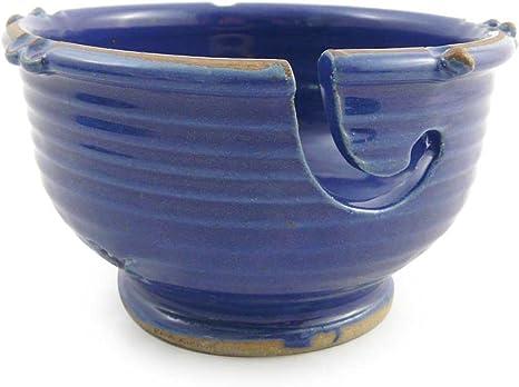 Anthony Stoneware Handmade Yarn Bowl Lavender