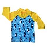 JAN & JUL UV Protective Swim Shirt Rash Guard 50+ UPF Baby Boy (UV Shirt S: 0-6m, Pineapple)