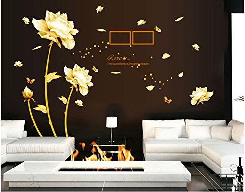 Sworna Nature Series Removable Vinyl Mural Wall Decal Sticke
