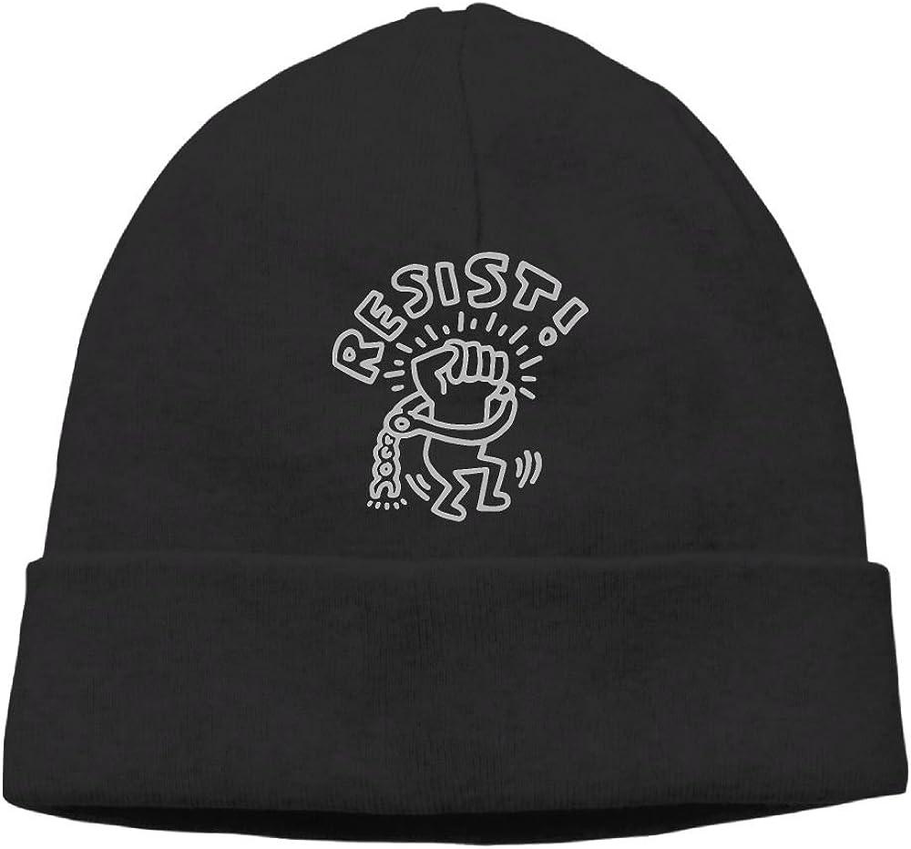 KKalobnm Keith Haring Resist Mens/&Womens Knit Hats Winter Warm Daily Hat