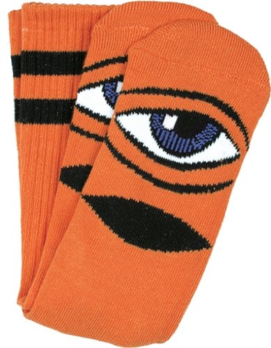 Toy Machine Sect Eye III Crew Socks Orange - Single Pair