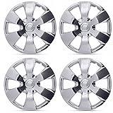 2012 chevy cruze chrome - BDK Hubcaps for Toyota Camry Replica, Chrome 16