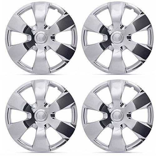 BDK Hubcaps for Toyota Camry Replica, Chrome 16