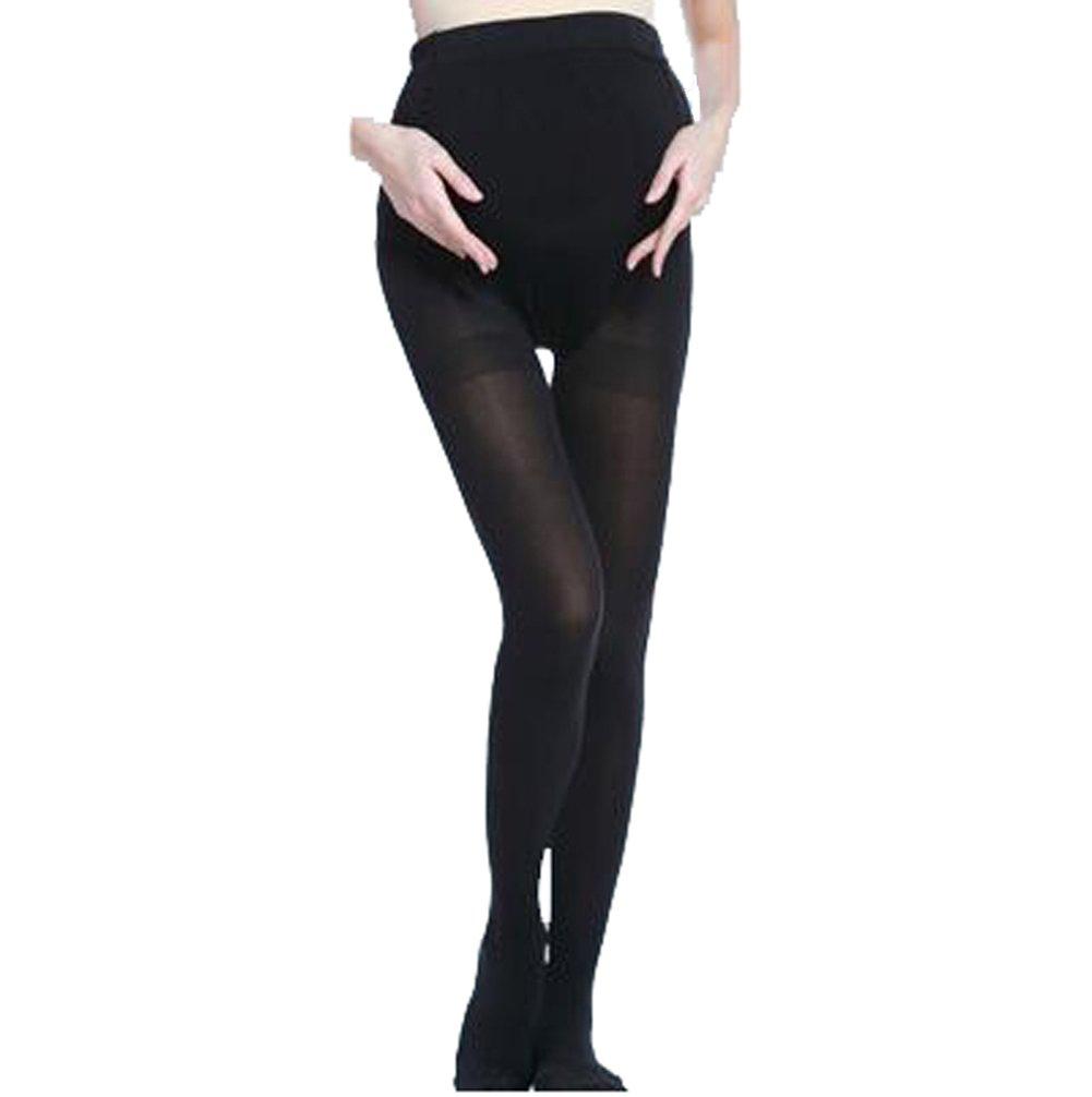 Bllatta Women's Adjustable Maternity Pantyhose Opaque Tights 120 Denier 4 Color