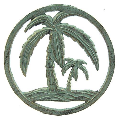 (Palm Tree Kitchen Trivet Hot Plate Cast Iron Verdi)