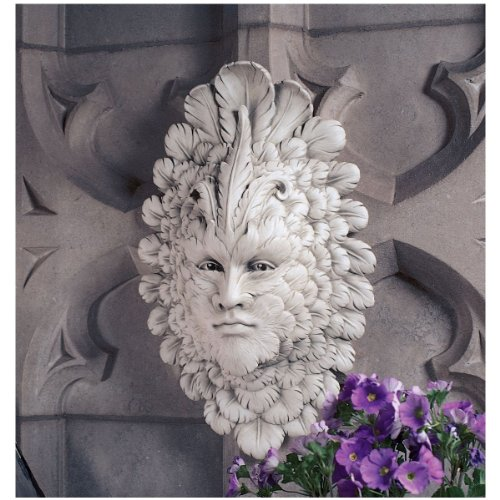 Design Toscano Presence of Carnevale: Greenman Wall Sculpture