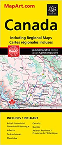 Canada Road Map: Canadian Cartographics Corporation ...
