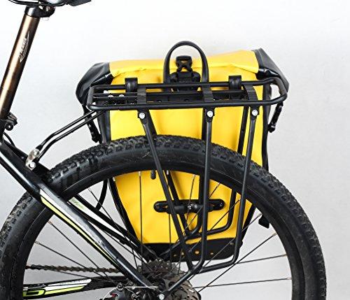 Huntvp 13L/25L/26L Bolsa Trasera de Bicicleta Impermeable y Multifunción Alforja Asiento Trasero Carrier Bolsas de Sillín Alforjas de Ciclismo: Amazon.es: ...