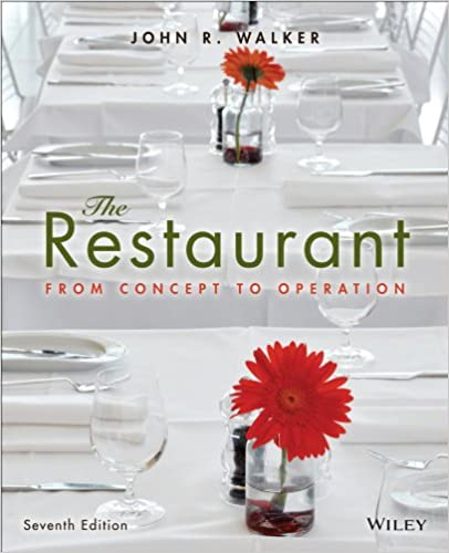 Amazon the restaurant from concept to operation 7th edition amazon the restaurant from concept to operation 7th edition ebook john r walker kindle store fandeluxe Gallery