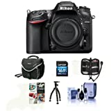 Nikon D7200 DSLR Body (Black) BUNDLE w/Free Accessories #1554 A