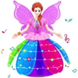 Toy for Girls, Morwind Girl Dancing Princess Multifunction Music Doll LED Pet Electronic Robot ,Electronic Toys for Girls