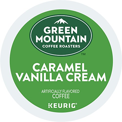 Green Mountain Coffee Roasters Caramel Vanilla Cream Coffee Keurig Free-Serve K-Cup Pods, 72 Count (6 boxes of 12 Pods)