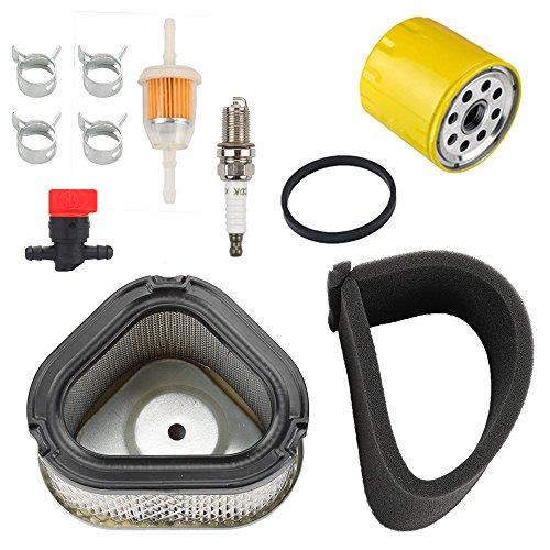 Harbot 12 083 05-S 12 883 05-S1 Air Filter+ 52 050 02-S Oil Filter Tune Up Kit for Kohler Command Pro CV11 - CV16 Engine ()