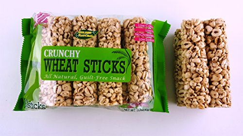 All Natural Crunchy Whole Wheat Rice Rollers 3.2 ounce Guilt free Snack (8 Sticks) Pack of 12 (Rice Rollers compare prices)