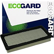 ECOGARD XA3465 Premium Engine Air Filter Fits Dodge Grand Caravan, Caravan / Chrysler Town & Country / Ford Escort / Plymouth Grand Voyager, Voyager / Dodge Neon / Ford Ranger / Plymouth Neon