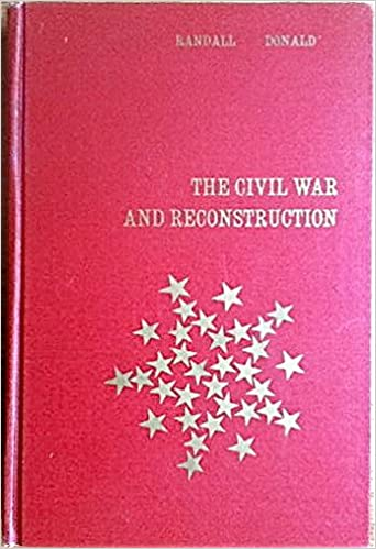 The Civil War And Reconstruction - 2nd. Ed.: J.G. RANDALL -: Amazon.com:  Books