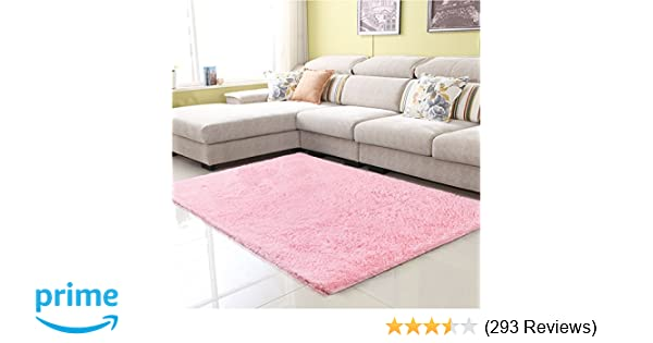 Amazon.com: Junovo Ultra Soft Contemporary Fluffy Thick Indoor Area ...