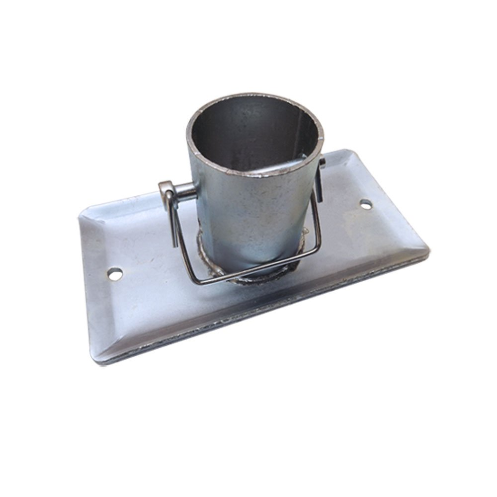 A Frame Galvanized Jack Foot Plate Pin 5k Trailer Marine Boat 5,000 LBS 2'' Tube by Generic (Image #1)