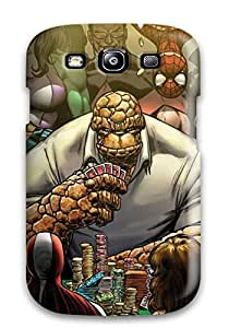 For Galaxy S3 Premium Tpu Case Cover The Thing Playing Poker Protective Case