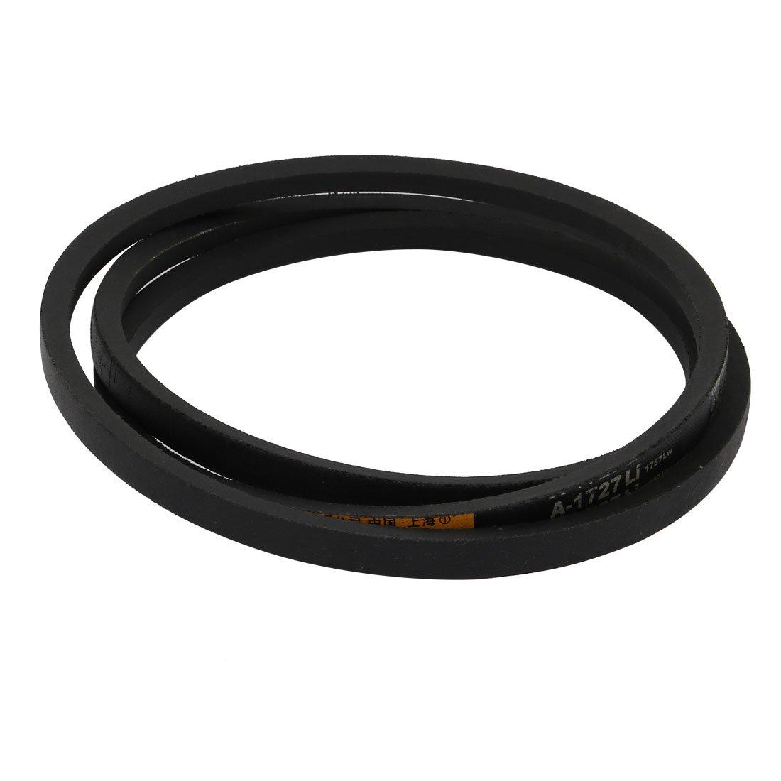 sourcingmap A1727 13mm Width 8mm Thickness Rubber Transmission Drive V-Belt