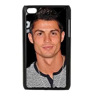 Ipod Touch 4 Phone Case Black Cristiano Ronaldo F6528133