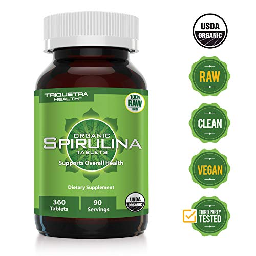 Organic Spirulina Certifications Certified Non Irraditated product image