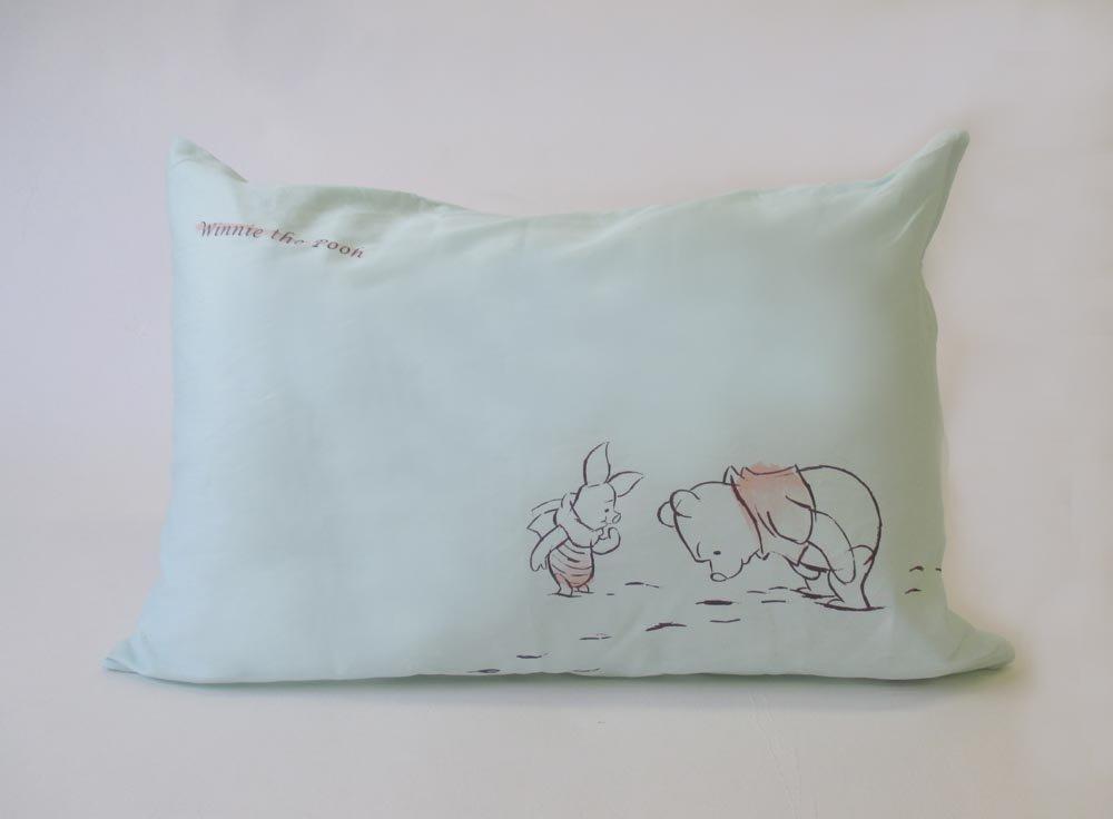 Morishita Disney adult Disney Winnie the Pooh pillow cover L 43 ~ 63cm