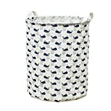 DTGTHDAS Waterproof Dirty Clothes Sundries Storage Basket Foldable Laundry Basket Storage Large Basket For Toy Washing Basket Box Red L