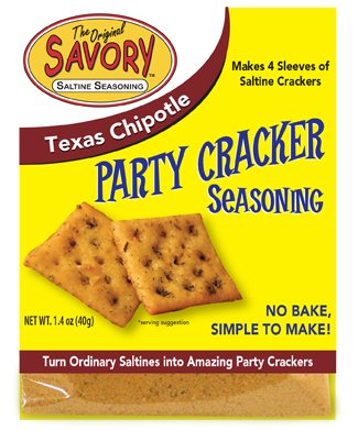 Savory Saltine Seasoning Ounce Chipotle