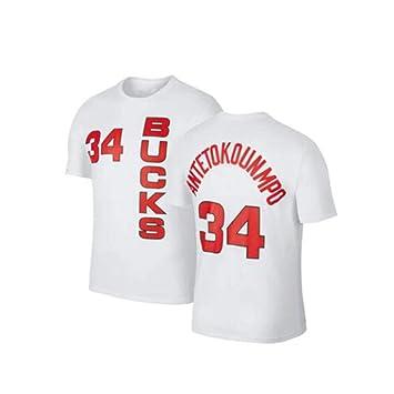 Camiseta De La NBA para Hombre Milwaukee Bucks Giannis ...