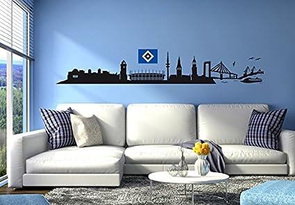 Dekoracje Wandtattoo Wandtattoo 1860 Munchen Skyline Blau A2btravel Ge