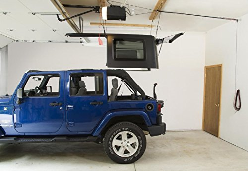 Jeep Hardtop Storage Harken Hoist Jeep Lift With BONUS 6 T Knobs For Quick Hardtop  Removal