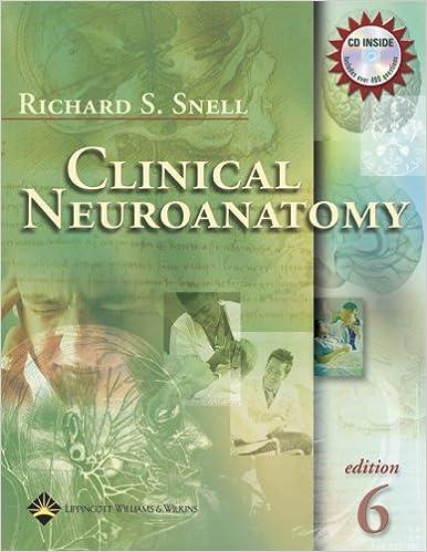 clinical neuroanatomy sixth edition - Neuroanatomy Coloring Book