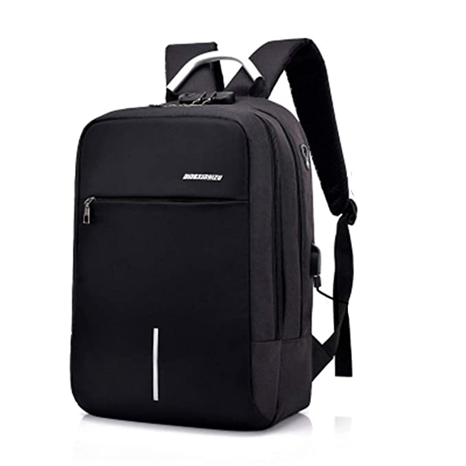 943196611f USB Charge Anti Theft Backpack For Men 15 Inch Laptop Mens Backpacks Fashion  Travel Duffel School