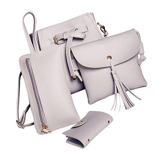 Mujer Pocket Gris Byste Bag For A7wnqa