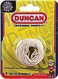 Duncan Yo Yo Strings 100% Cotton, 5 Pack, White